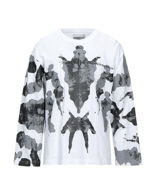 T-shirt di Youths in Balaclava in White da Uomo