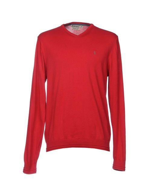 Refrigue Red Jumper for men