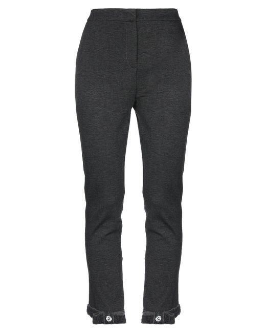 Class Roberto Cavalli Gray Casual Pants