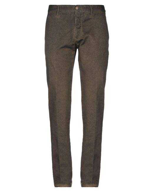 Incotex Green Casual Pants for men