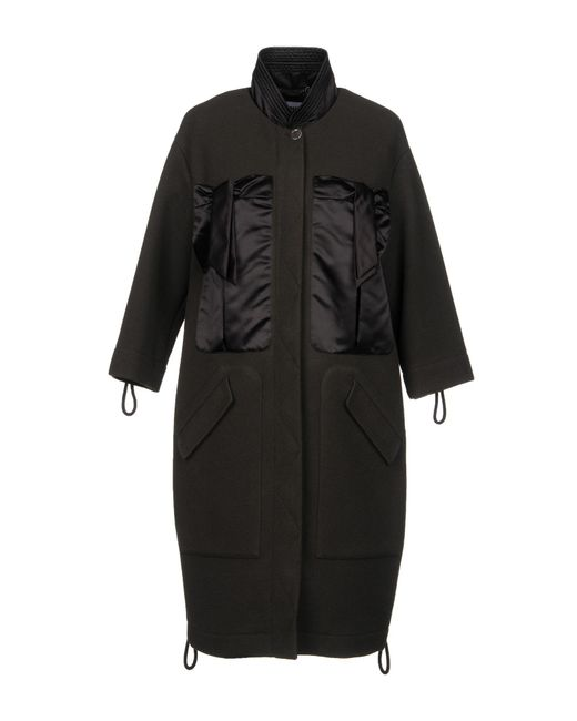 Moschino - Brown Coats - Lyst