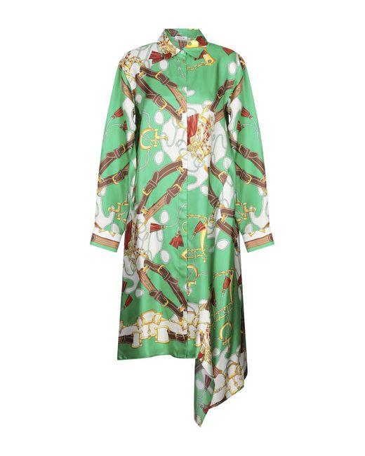 Vestido por la rodilla P.A.R.O.S.H. de color Green