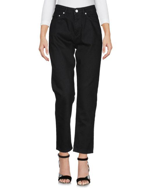 Pantaloni jeans di WOOD WOOD in Black