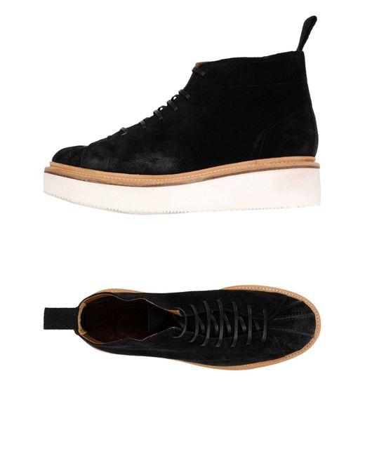 GRENSON - Black High-tops & Sneakers - Lyst