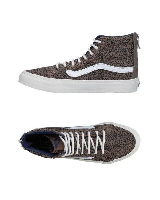 fdd8b5b03e3dff Vans - Gray High-tops   Sneakers - Lyst ...