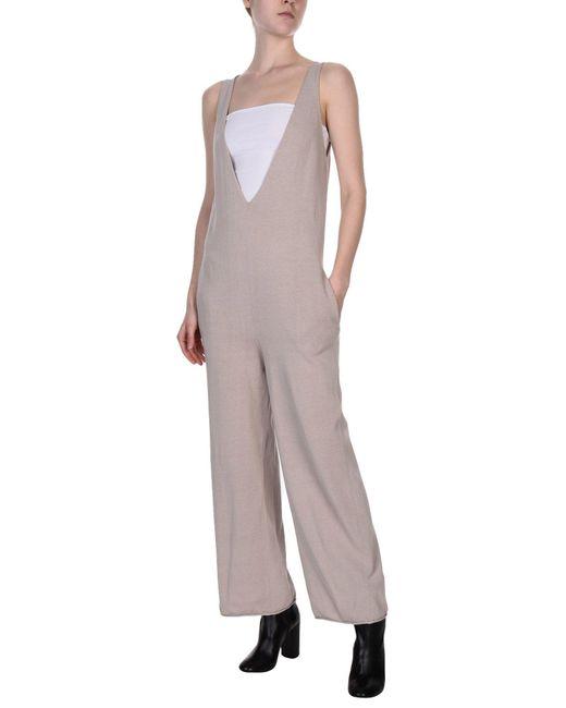 Stefanel - Natural Jumpsuit - Lyst