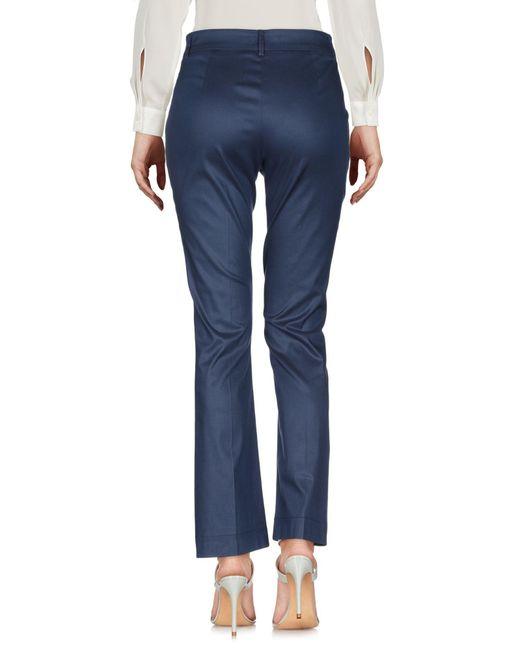 L'Autre Chose Pantalon femme de coloris bleu