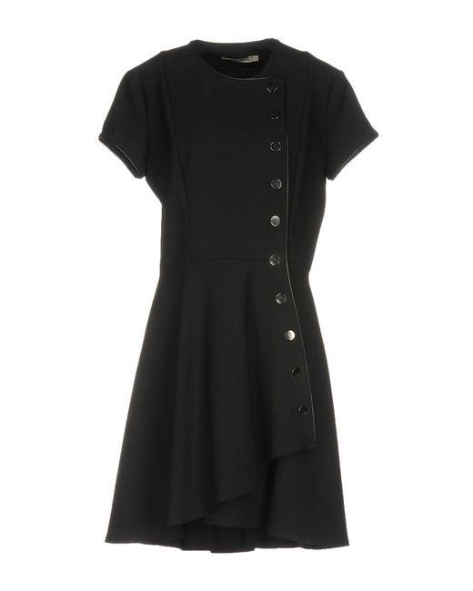 Amen - Black Short Dress - Lyst
