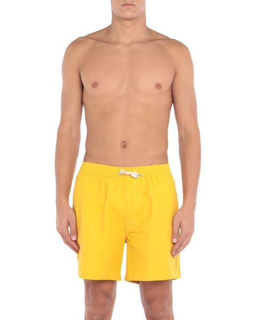 Short de bain Lightning Bolt pour homme en coloris Yellow