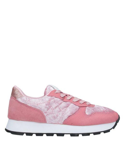 Sun 68 Pink Low-tops & Sneakers