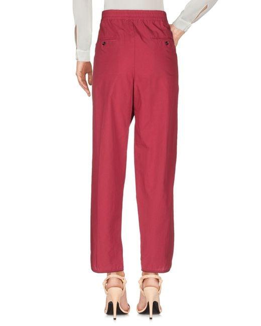Pantalones Forte Forte de color Red