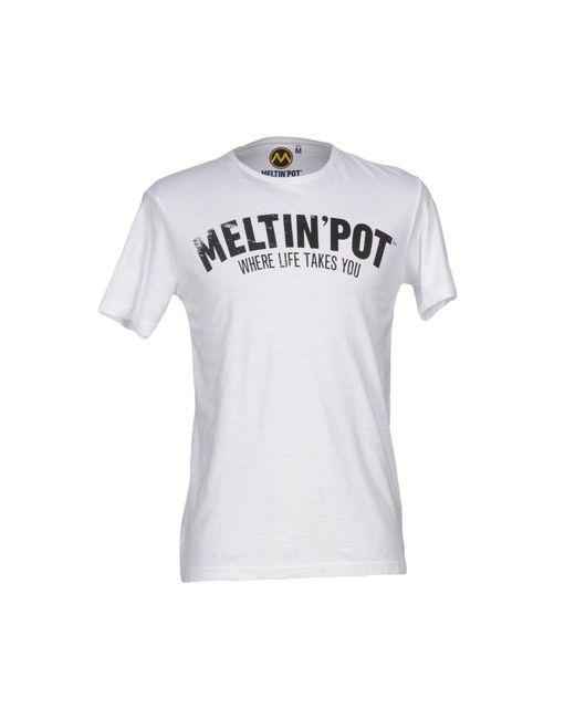 Meltin' Pot - White T-shirt for Men - Lyst