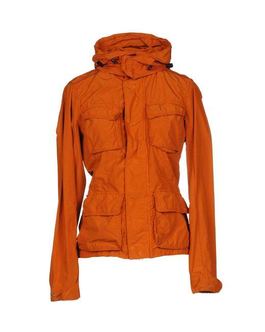 Aspesi - Orange Jackets - Lyst