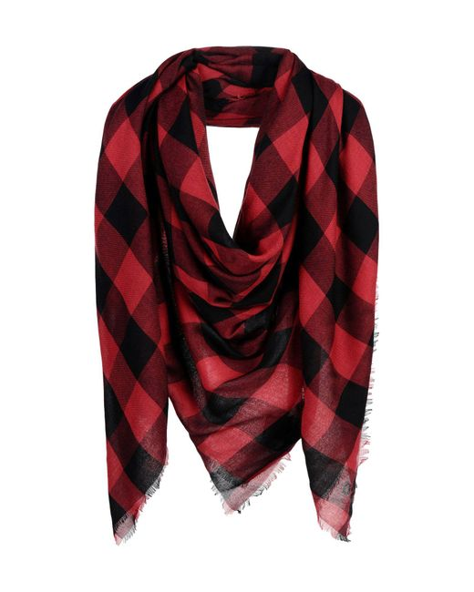DSquared² - Red Square Scarf for Men - Lyst