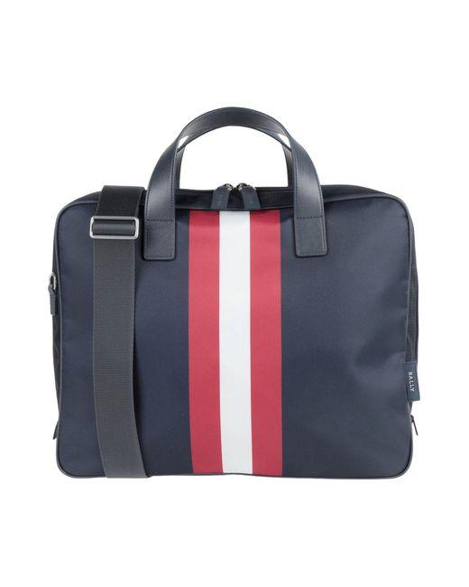 Bally Blue Work Bags for men