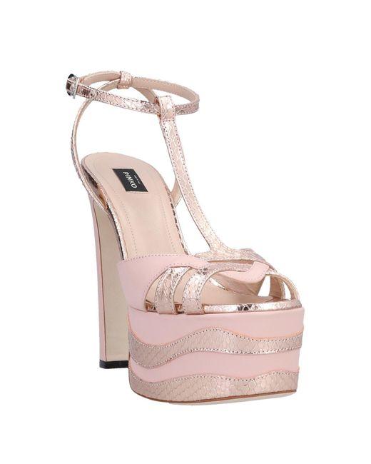 Pinko Pink Sandals