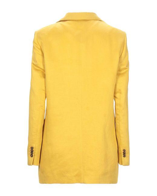 Giacca di Tagliatore 0205 in Yellow