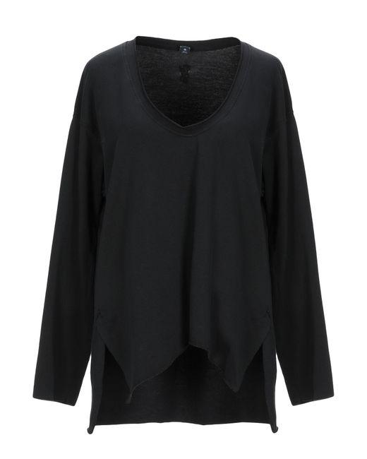 European Culture Black Sweatshirt