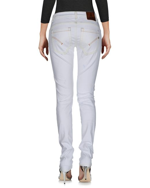 Dondup White Denim Pants
