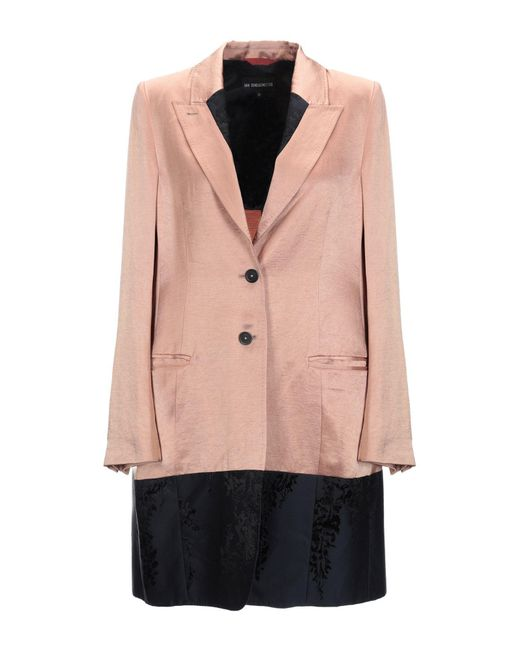 Ann Demeulemeester Pink Overcoat