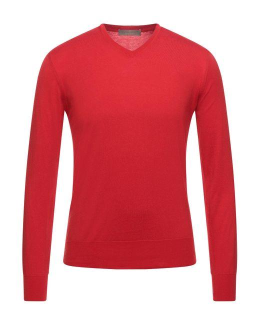Cruciani Pullover in Red für Herren