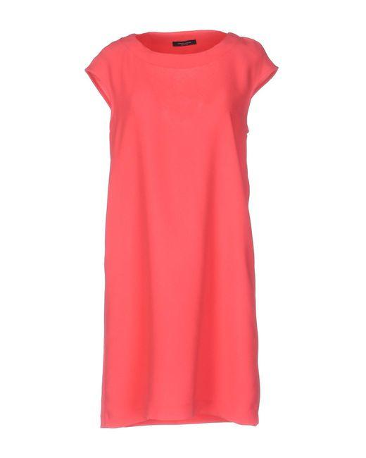 Roberto Collina - Multicolor Short Dress - Lyst