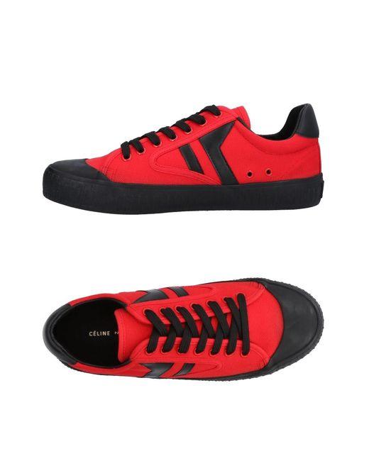 Sneakers & Tennis basses Céline en coloris Red