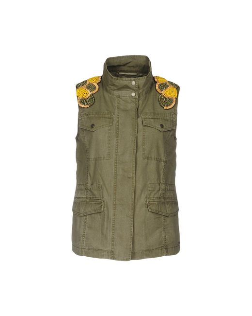 Pepe Jeans - Green Jacket - Lyst