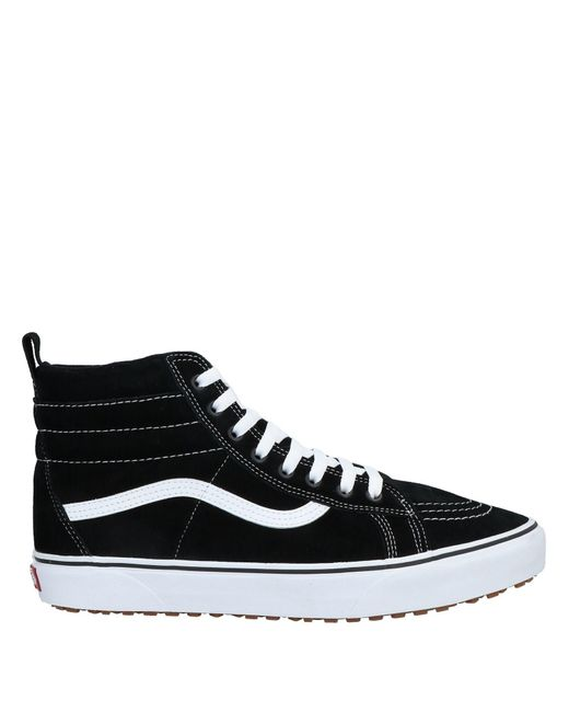 Sneakers & Tennis montantes Daim Vans pour homme en coloris Noir ...