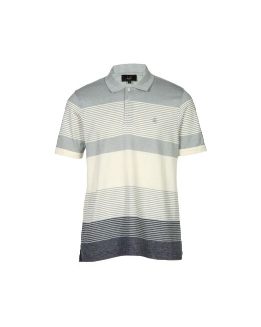Dunhill - Gray Polo Shirt for Men - Lyst
