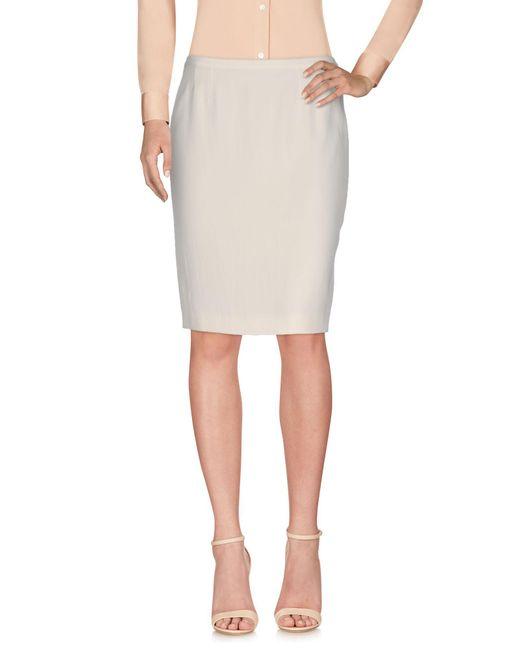 Jean Paul Gaultier - White Knee Length Skirts - Lyst