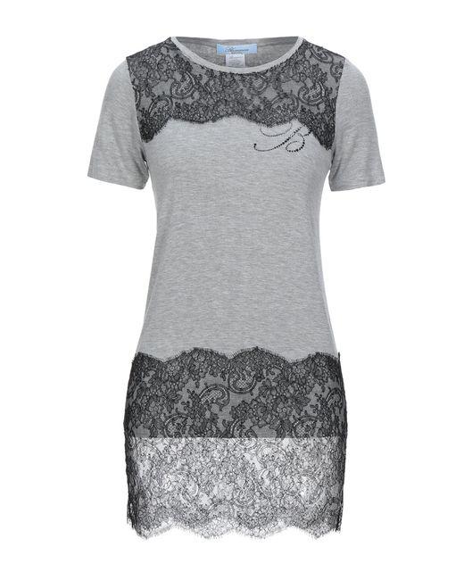 Blumarine Camiseta de mujer de color gris zVCmB