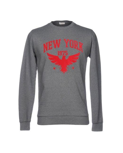 X-cape - Gray Sweatshirts for Men - Lyst