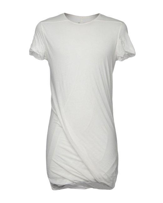 DRKSHDW by Rick Owens - White T-shirt for Men - Lyst