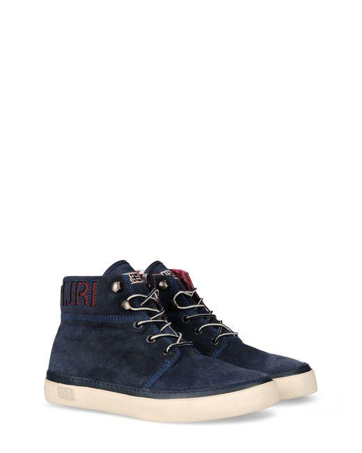 Napapijri - Blue Ankle Boots for Men - Lyst