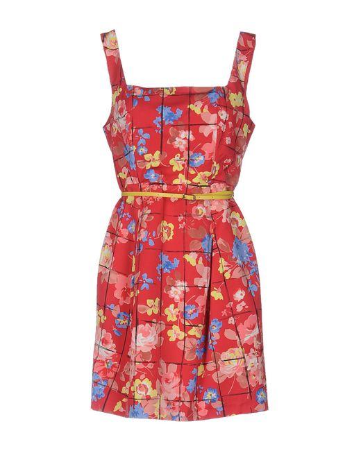 Liu Jo Red Short Dress