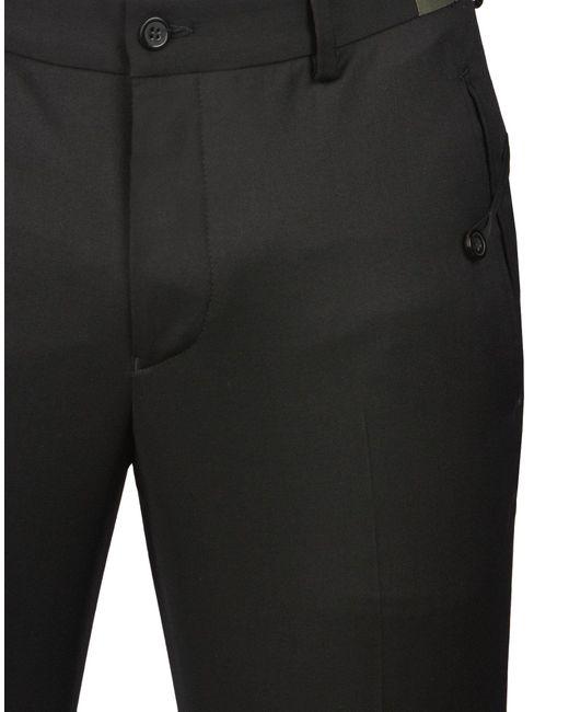 Emporio Armani Black Pant for men