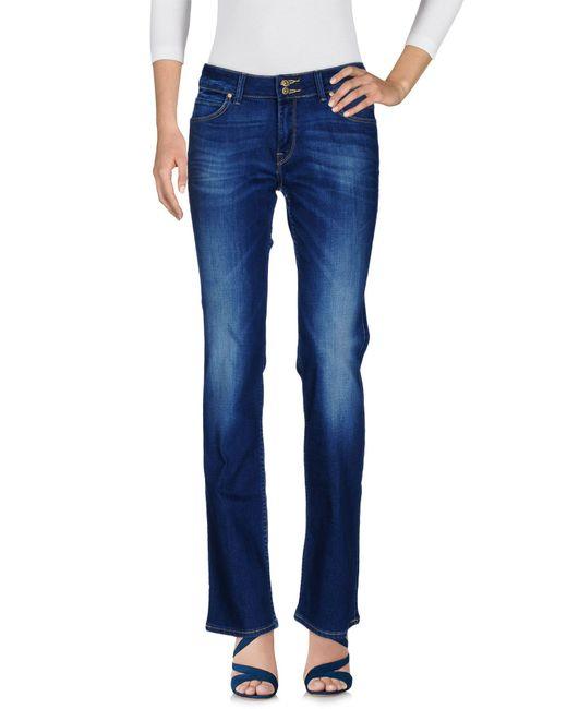 Lee Jeans - Blue Denim Pants - Lyst