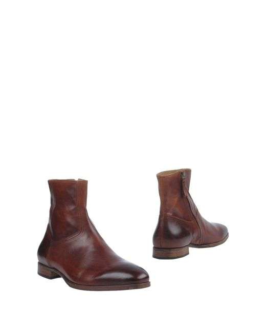 N.d.c. Made By Hand - Brown Ankle Boots - Lyst