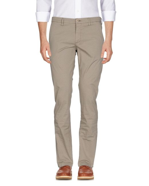 Massimo Rebecchi - Natural Casual Trouser for Men - Lyst