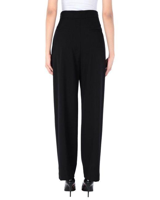 Ottod'Ame Pantalon femme de coloris noir Sm1sW