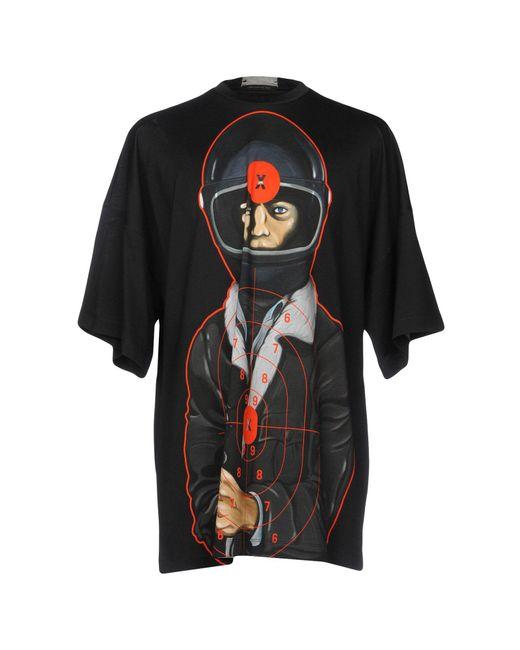 Christopher Kane - Black T-shirt for Men - Lyst
