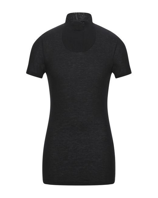 Tom Rebl Black T-shirt for men