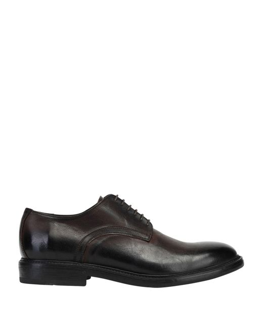 8 by YOOX Brown Lace-up Shoe for men