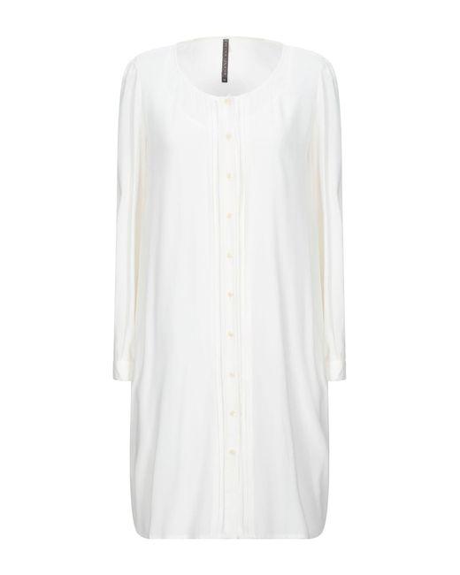 Manila Grace White Short Dress
