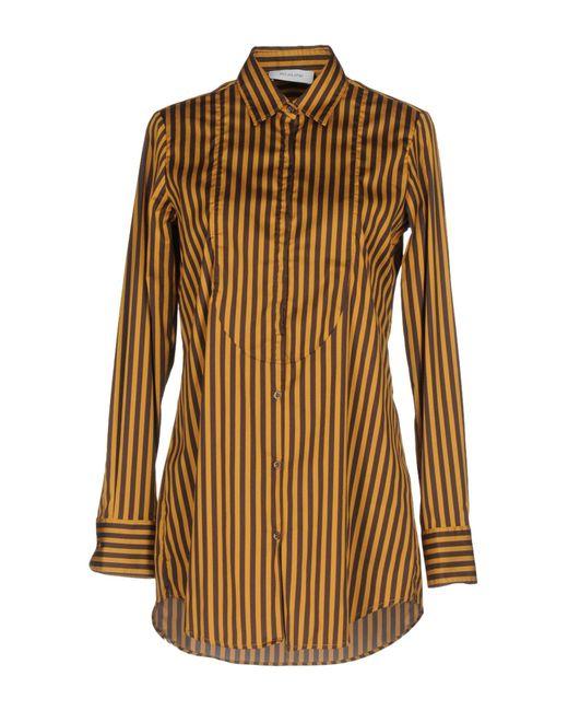 Aglini - Brown Shirt - Lyst