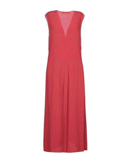 Vestito longuette di Jucca in Red