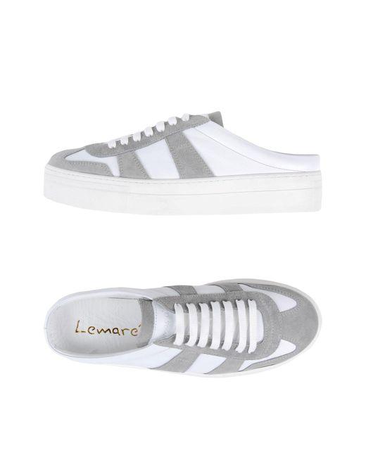 Lemarè - White Mules - Lyst