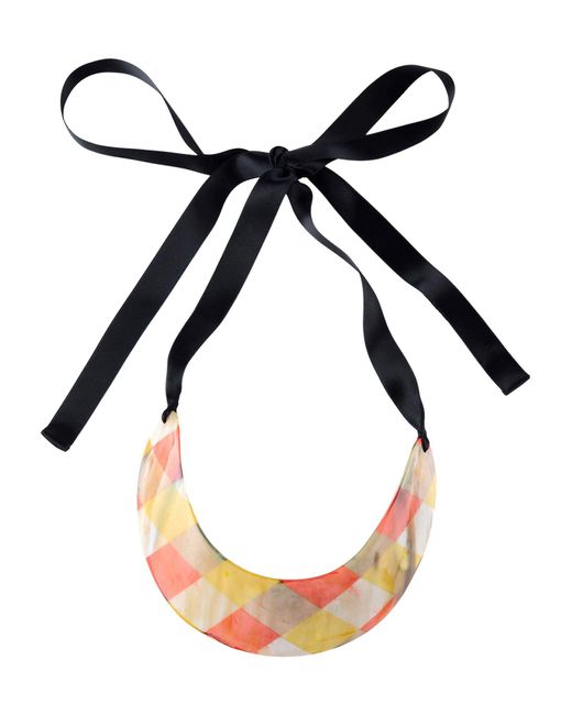 Marni | Pink Necklace | Lyst