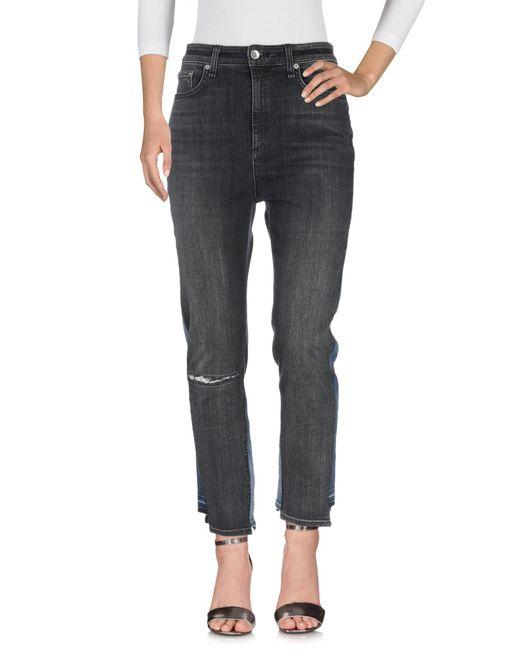 Pantaloni jeans di Rag & Bone in Black